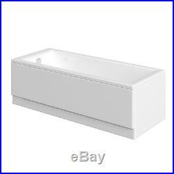 11 Jet Whirlpool Bath + Moods Deluxe Panel + Chrome Pop Up Bath Waste Jacuzzi