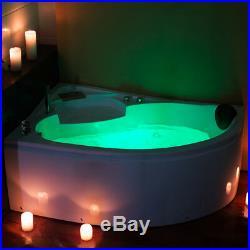 1500MM Whirlpool Shower Spa Jacuzzis Massage 1 Person Corner Bathtub Left hand
