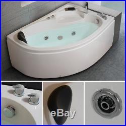 1500MM Whirlpool Shower Spa Jacuzzis Massage Corner Bathtub Right Model 1510R