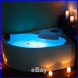 1500MM Whirlpool Shower Spa Jacuzzis Massage Corner Bathtub Right Model AUSTRIA