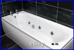 1500, 1600 or 1700mm Whirlpool Jacuzzi Type Acrylic Spa Bath with Whirlpool &