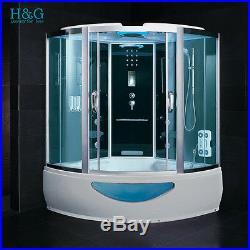 1500 Steam Shower Whirlpool Jacuzzis Bath Corner Cabin Cubicle Enclosure Room