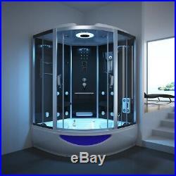 1500mmShower 3KWSteam Generator Massgae Cubicle Whirlpool Jacuzzis Bathtub Cabin