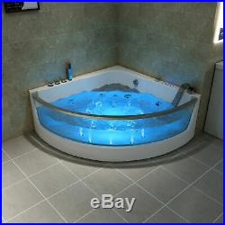 1500mm Luxury Whirlpool Shower Bath Jacuzzis Bathtub With 15 Massage Jet 6133M