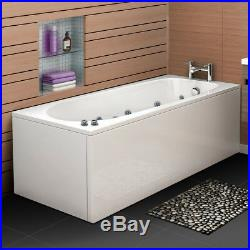 1700mm Whirlpool Bath Luxury Spa 9 or 11 Massage Jet Jacuzzis Straight Bathtub
