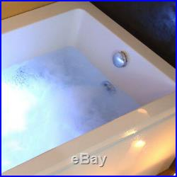1700mm Whirlpool Baths Jacuzzis Single Straight Bathtub 11 Jets Model VENICE01