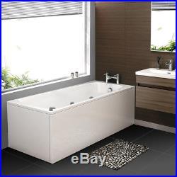 1700mm Whirlpool Shower SPA Bath Jacuzzis Massage Corner Rectangle Bathtub 170SW