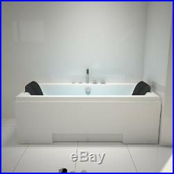 1700mm Whirlpool Spa Jacuzzis Massage 2 Person Double Ended Corner Bathtub