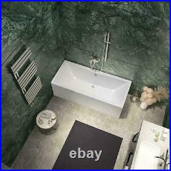 1900 x 900mm 8 Jet Whirlpool / Jacuzzi Bath Double Ended LIGHT OPTION DEAL