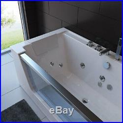 1 Person Whirlpool Bath Tub Jacuzzi Jets & Back Massage Jets 1800 X 900 X 600mm