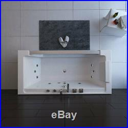 1 Person Whirlpool Bath Tub Luxury Hydrotherapeutic Jacuzzi 1700 x 800 x 600mm