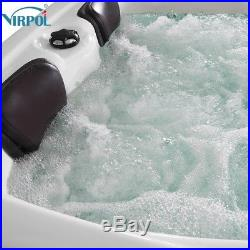 2018 NEW Hot Tubs Spa Jacuzzis Whirlpool Bath Outdoor(2+1) Seats -6016 VIRPOL