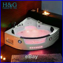 2019 New Modern Whirlpool Shower Spa Jacuzzis Massage Corner 2 person Bathtub