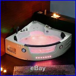2019 New Whirlpool Bath Shower Spa Jacuzzis Massage Corner 2 person Bathtub