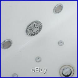 2019 New Whirlpool Bath Spa Jacuzzi Straight 2 person Double End Massage Bathtub