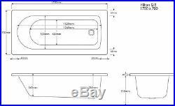 2020 Olympia 8 Jet-Whirlpool-Bath-1700-x-700-mm-Jacuzzi-Spa