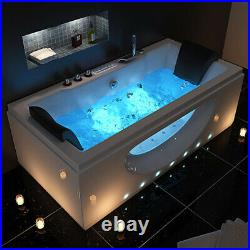 2020 Whirlpool Double End Jacuzzi Digital Control Panel Bathtub 26 Massage Jets