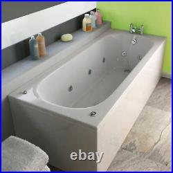 2021 New Trojan Cascade 11 Jet White Whirlpool Bath 1700 x 700 mm Jacuzzi Spa