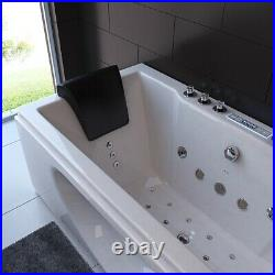 2021 New Whirlpool Bath Spa Jacuzzi Straight 2 person Double End Massage Bathtub