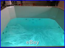 20 Jet Oriental Deep Soaking Japanese Whirlpool Bath 1400 x 1000 mm Jacuzzi Spa