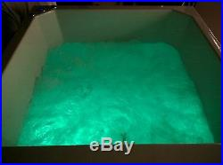 24 Jet Oriental Deep Soaking Japanese Whirlpool Bath 1200 x 1000 mm Jacuzzi Spa