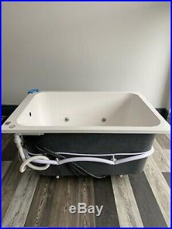 24 Jet Oriental Deep Soaking Japanese Whirlpool Bath 1400 x 1000 mm Jacuzzi Spa
