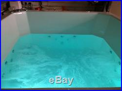 24 Jet Oriental Deep Soaking Japanese Whirlpool Bath 1400 x 1000 mm Jacuzzi Spa