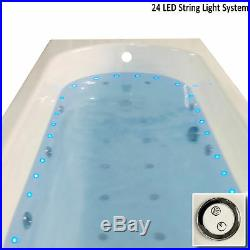 24 LED string lighting for Whirlpool / Jacuzzi Bath