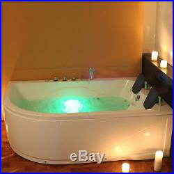 2 Person Whirlpool Bath Tub With Massage And Jacuzzi Jets Right Facing Pool