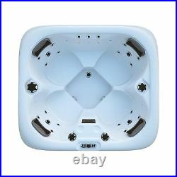 3-4 Person Luxury Outdoor Hot tub Thermostatic Spa Whirlpool Jacuzzi Jets Step