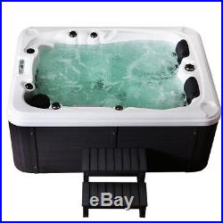 3-4 Person Outdoor Hot Tubs Spa Jacuzzis 51 Massage Jets Whirlpool Bathtub