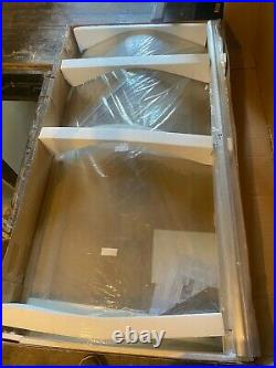 Aquaestil 8 jet jacuzzi whirlpool shower bath, shower screen and bath panel