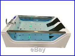 CALABRIA WHIRLPOOL BATH-2 PERSON-JACUZZI JETS MASSAGE SPA-1800mm x 1200mm