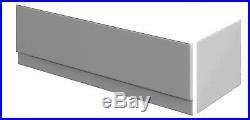 COMPLETE SET 12 Jet Whirlpool / Jacuzzi Bath 1700 x 700mm Inc Waste, Panels & Tap