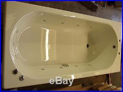 California 11 Jet Whirlpool Bath Chrome Jets and Controls White Jacuzzi Spa