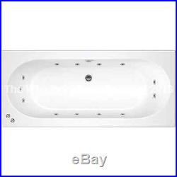 California 13 Jet Double Ended Whirlpool Jacuzzi Bath 1800 L x 800 W x 550 H MM
