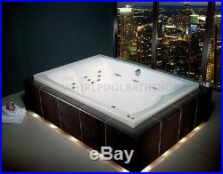 Carron Celsius Duo 26 Jet Whirlpool Bath 2000 x 1400 mm White Jacuzzi Spa