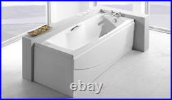 Carron Imperial 1400 x 700 11 Jet Whirlpool Jacuzzi Spa Bath + Free LED Light