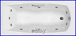 Carron Imperial 1800 x 750 11 Jet Whirlpool Spa Bath Jacuzzi + Free LED Light