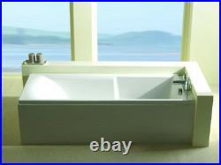Carron Matrix 1700 x 700 White 11 Jet Whirlpool Bath Jacuzzi + Free LED Light