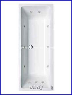 Carron Quantum 11 Jet Whirlpool Jacuzzi Bath 1700 x 700 + Free LED Light