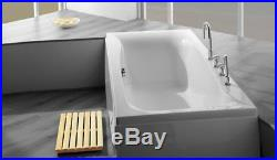 Carronite Carron Linea 1900 x 900 11 Jet Whirlpool Bath Large Bath Jacuzzi