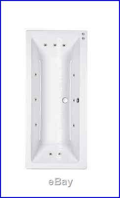 Carronite Quantum Duo 1800 x 1800 11 Jet Whirlpool Spa Bath Jacuzzi