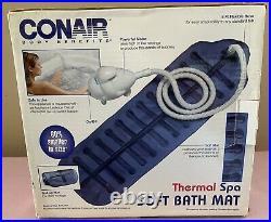Conair Body Benefits Thermal Spa Soft Bath Mat Model MBTS2 Jacuzzi Whirlpool NIB