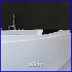 Contemporary Whirlpool System Massage Rectangle Shower 1700mm Jacuzzis Bathtub