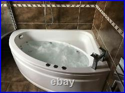 Corner Jacuzzi Bath Fitted 2 Years Ago. Being Taken Out Due To Extension