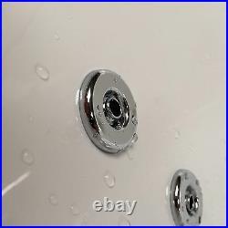 Decadence 1700 x 800mm 24 Jet Whirlpool / Jacuzzi Bath & LED Light