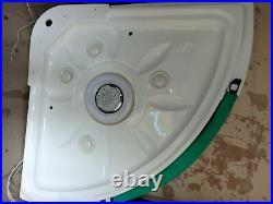 Deluxe Steam Shower Whirlpool Jacuzzi Bath/Shower Cubicle Sauna AQUAPLUS AP160