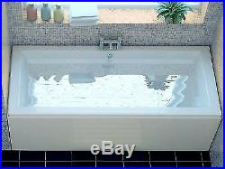Double Ended Whirlpool Bath Jacuzzi Designer Jets Modern Rectangle 1700