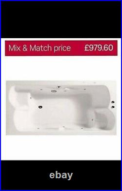 Double whirlpool jacuzzi bath with pump From Home Base Bath Tub £979.60 RRP